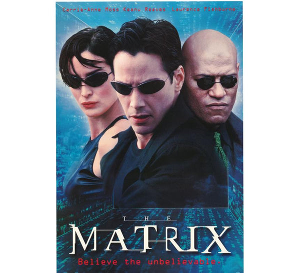 The Matrix Vintage 90's Poster