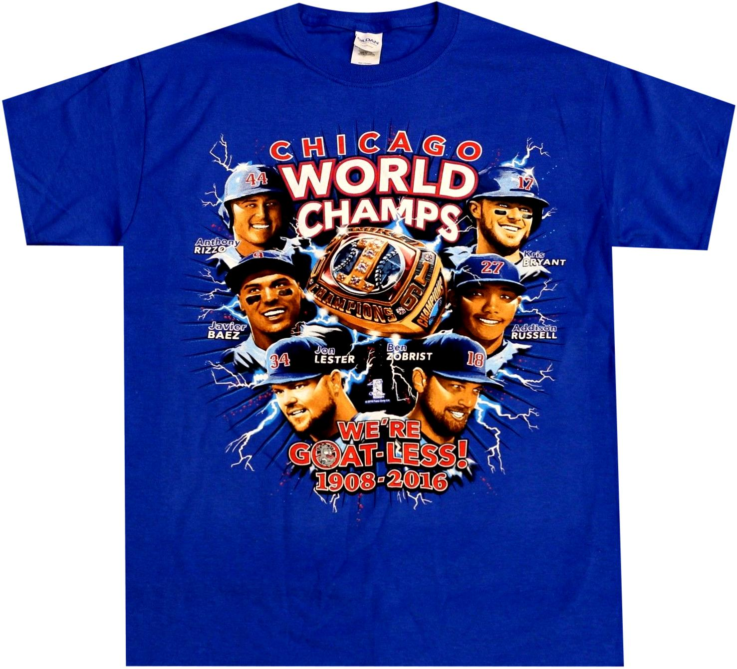 Cubs World Series MLB Shirt