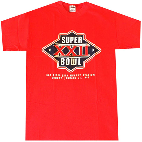 Vintage SuperBowl XXII T-shirt