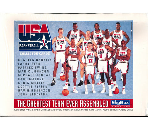 1992 Dream Team Box-36 Packs - And Still
