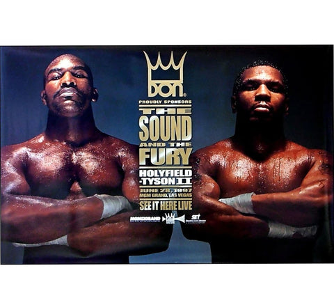 Tyson VS Holyfield Fight Poster