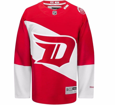 Red Wings Retro Hockey Jersey
