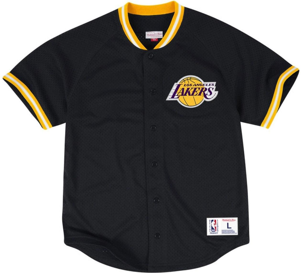 Lakers Mesh Baseball Jersey