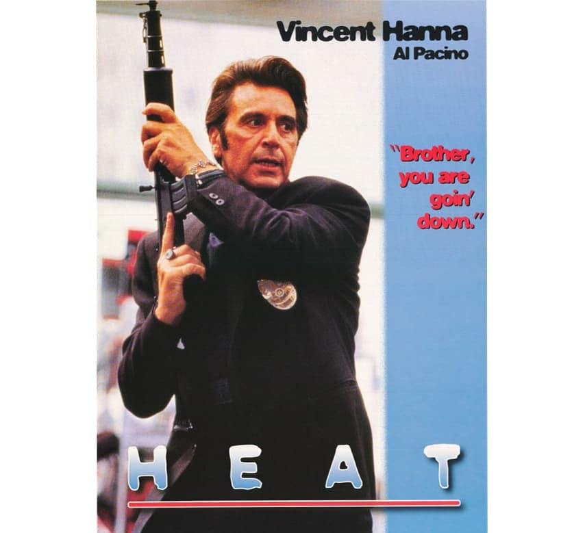 Heat Vintage Movie Poster