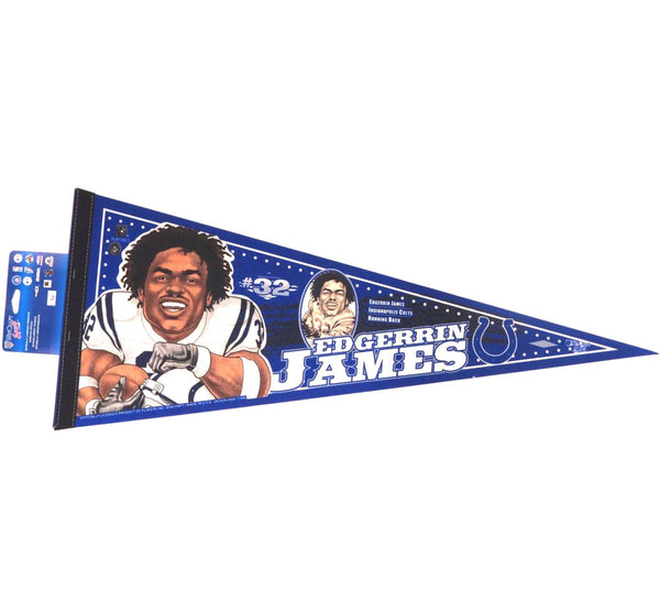 Edgerrin James Colts Pennant