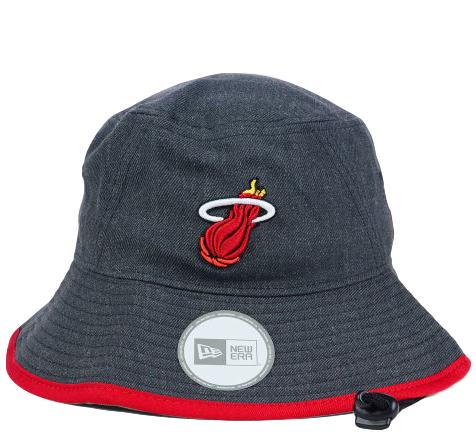 f61d8a0f1b Heat Retro NBA Bucket Hat