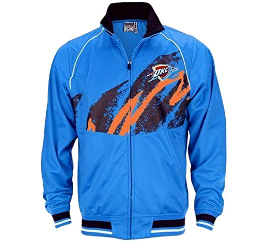 Thunder Retro NBA Track Jacket