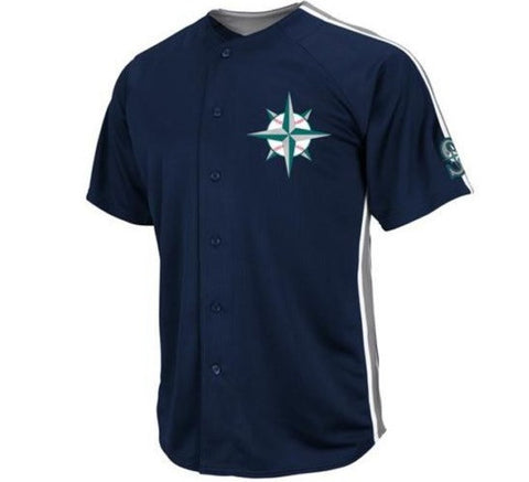 Mariners Retro Majestic Jersey - And Still