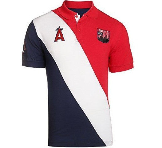 Angels Retro MLB Polo Shirt - And Still