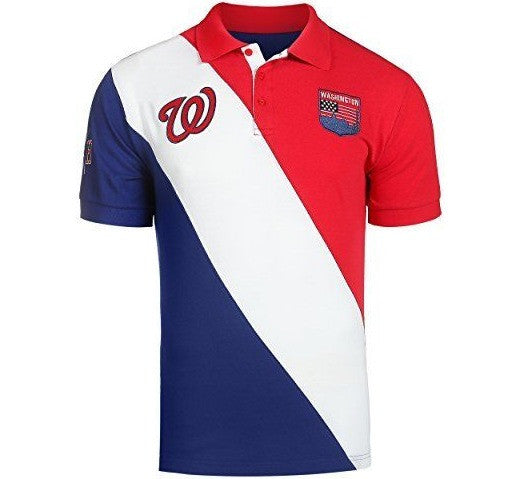 Nationals Retro MLB Polo Shirt - And Still