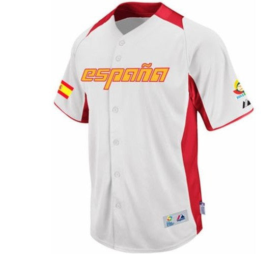 2013 Spain Baseball Jersey - And Still