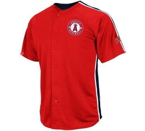 Angels Retro Majestic  Jersey