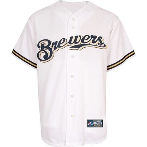 Brewers Retro Majestic Jersey - And Still