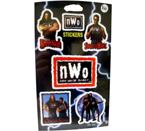 NWO Vintage 90's WCW Stickers