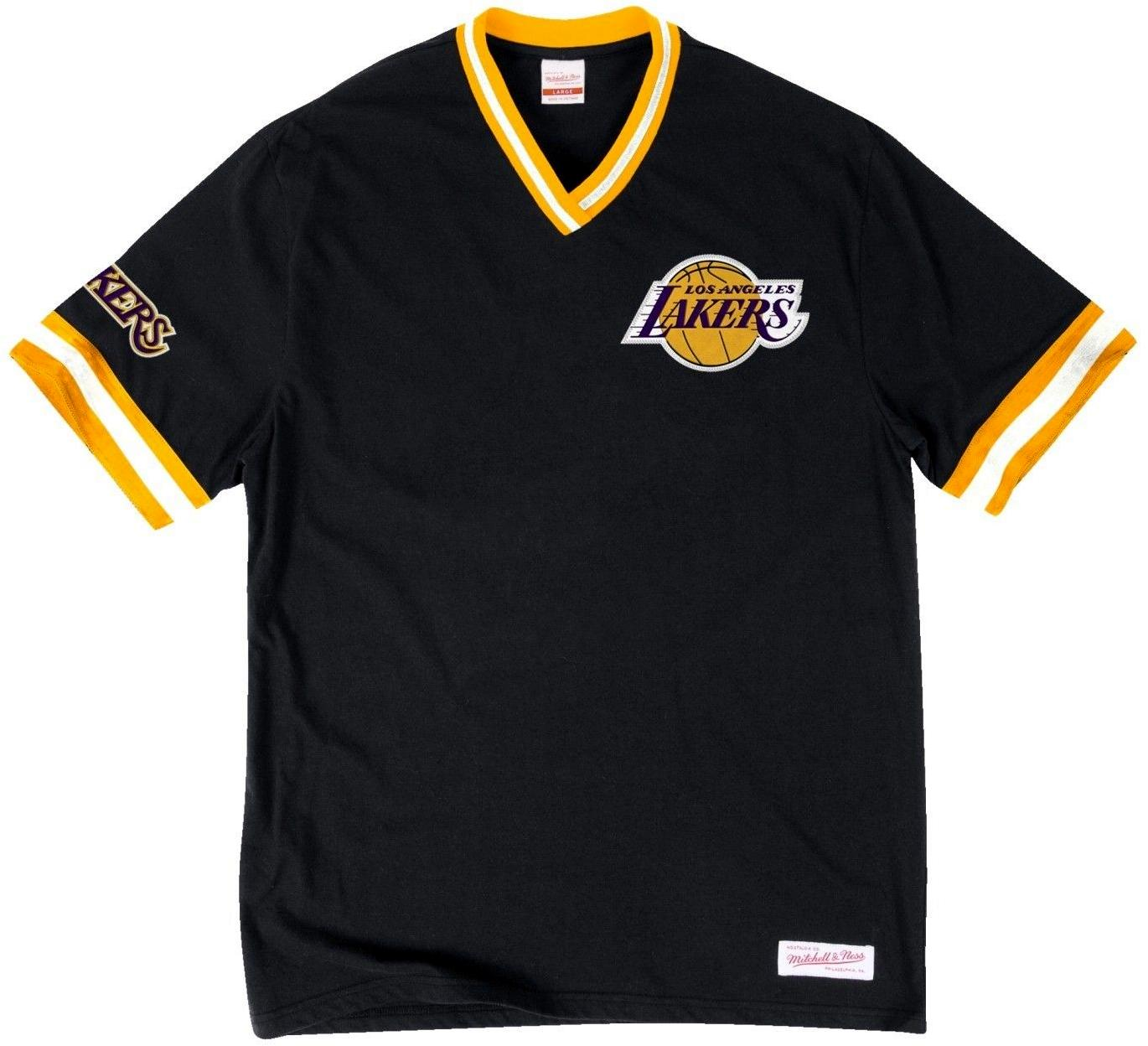 Lakers Retro V-Neck NBA Shirt