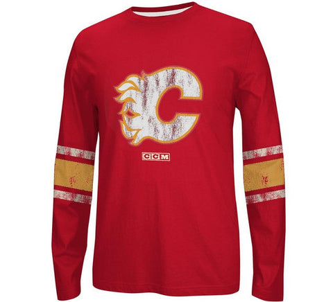Flames Retro Long Sleeve Shirt - And Still