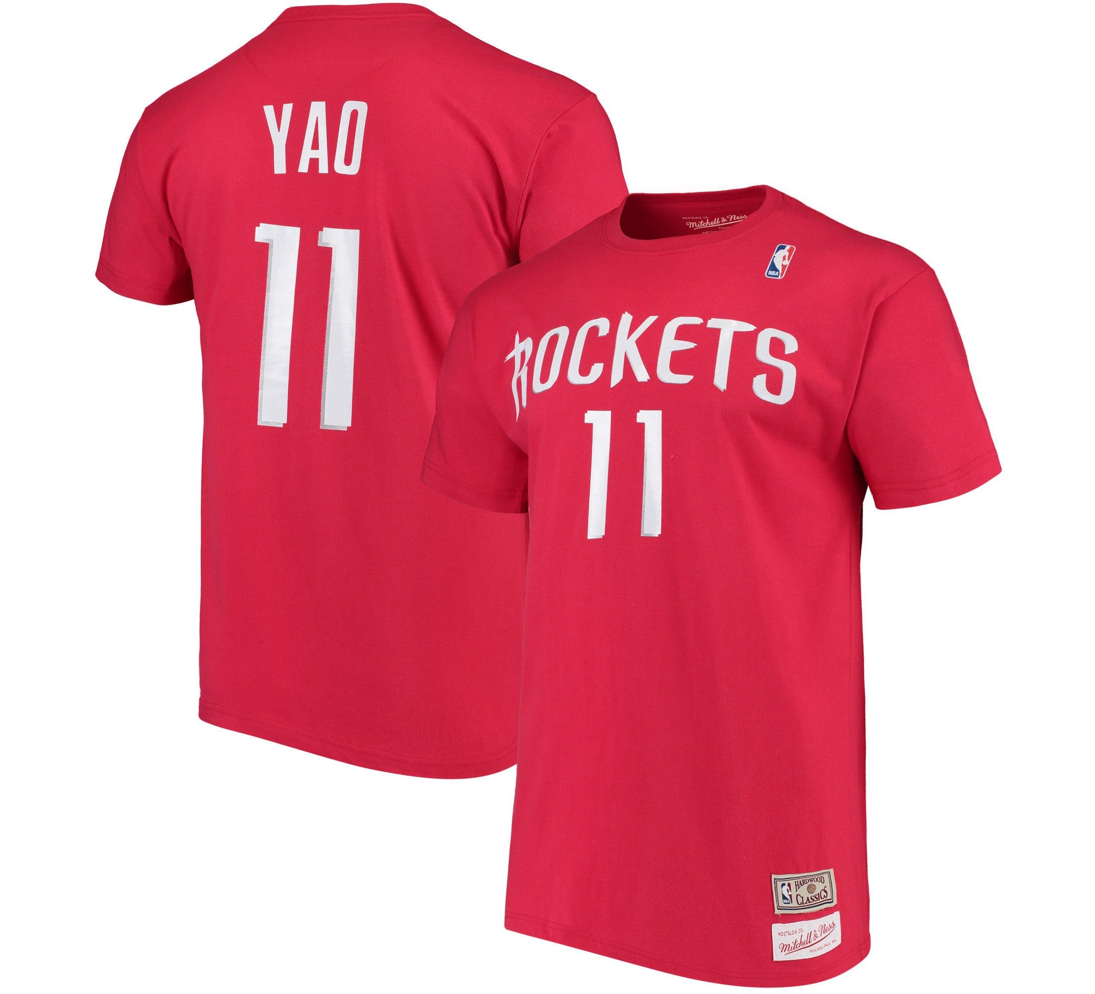 1618fbf3bb4 Yao Ming Rockets NBA Shirt Houston Champion Jersey 90 s Retro Rare ...