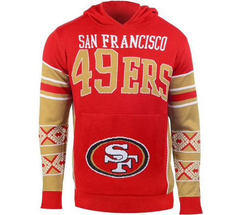 49ers Retro Hooded Sweater