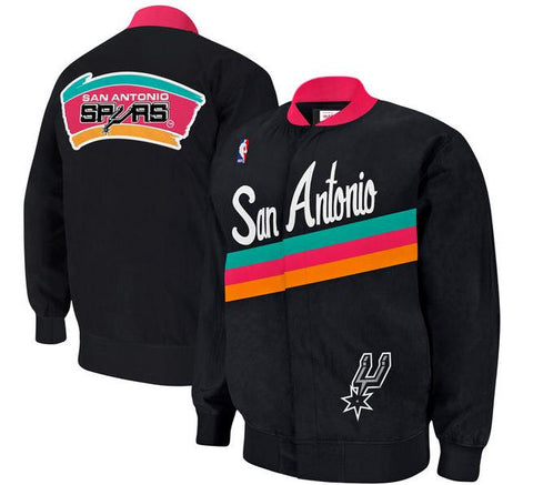Spurs Retro Warmup Jacket