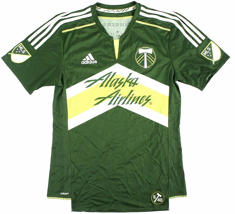 pretty nice 8266a 7cea7 Timbers Retro Soccer Jersey