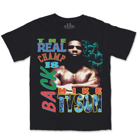 Mike Tyson T-Shirt (black)