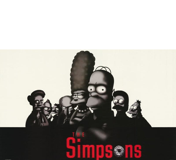 The Simpson Vintage Poster