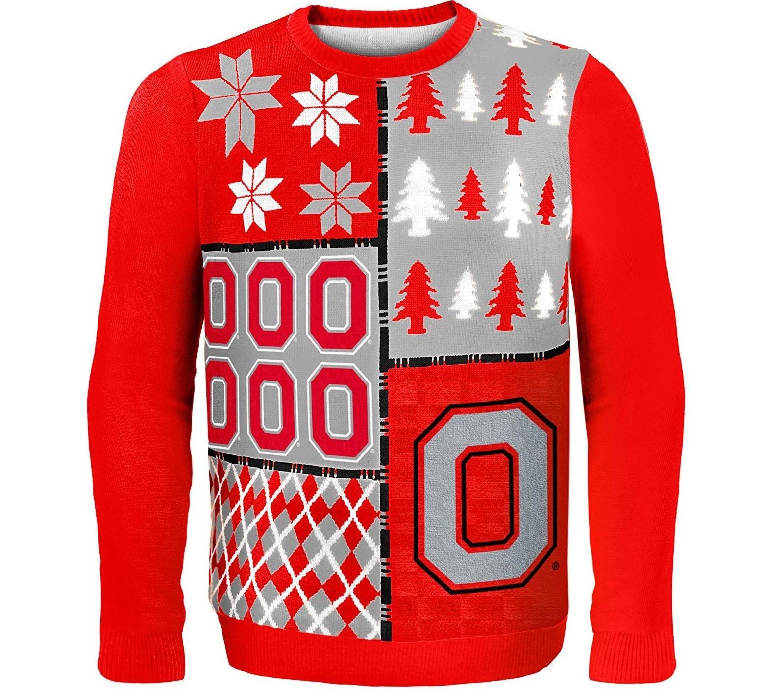 Buckeyes Retro NCAA Sweater