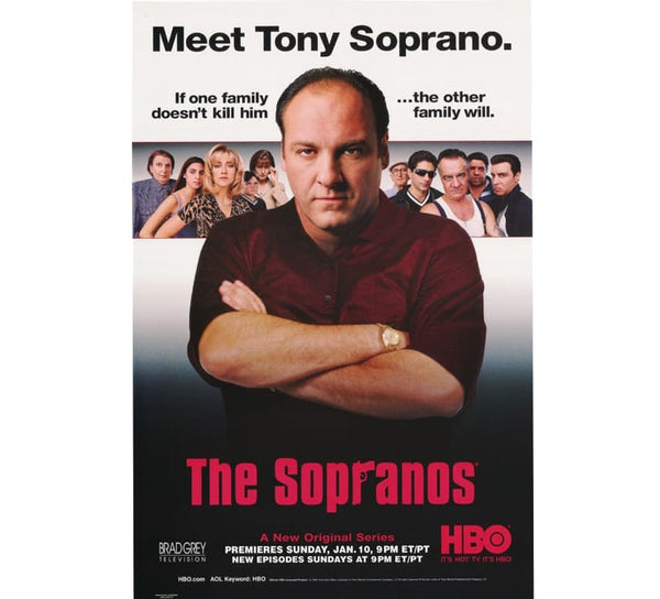 The Sopranos Vintage Poster