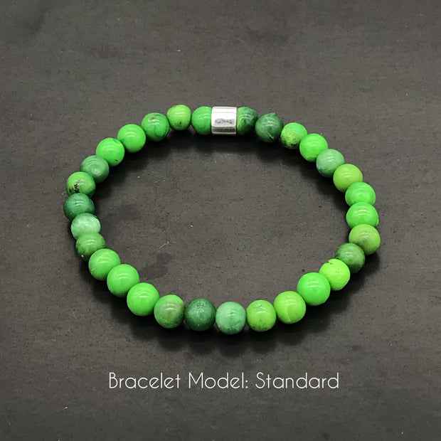 Duda Piai - Bracelet made with recycled tennis racquet strings used by her
