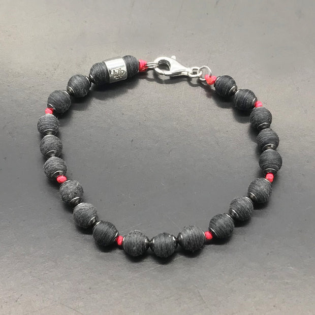 Matheus Pucinelli - Bracelet made with recycled tennis racquet strings used by him