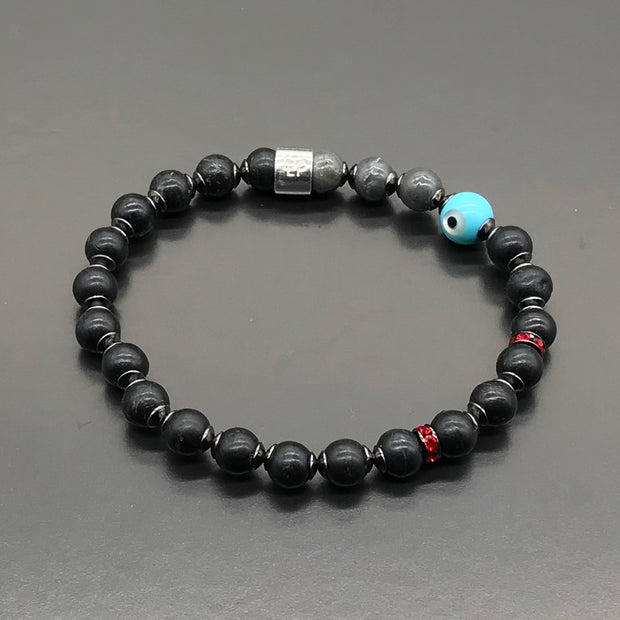 Oscar Gutierrez - Bracelet made with recycled tennis racquet strings used by him