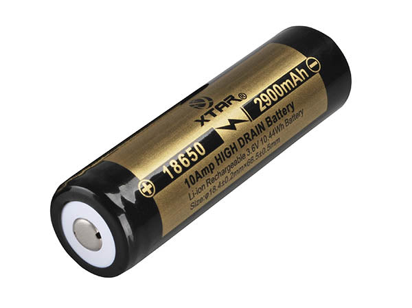 XTAR IMR 2900mAh 18650 Li-Ion Battery