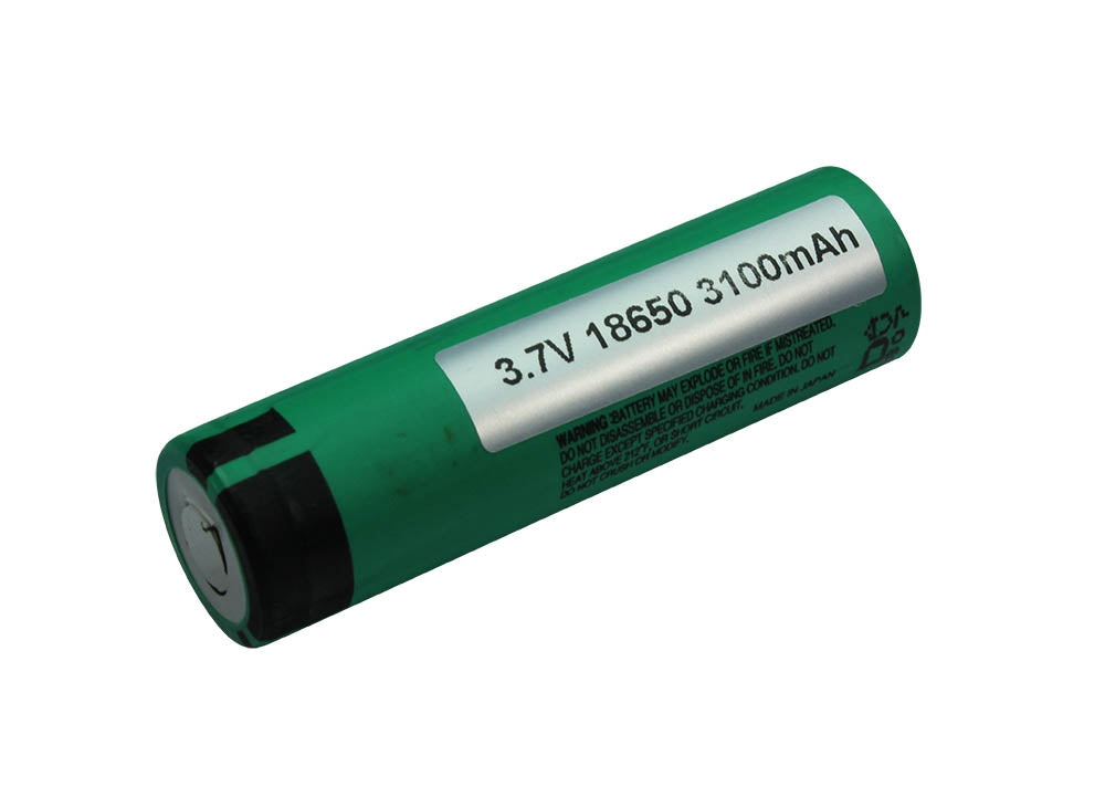 Panasonic 3100mAh NCR 18650 Li-Ion Battery
