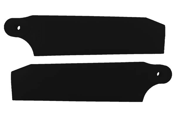 KBDD 84.5mm Extreme Edition Tail Blades for 600 Helis