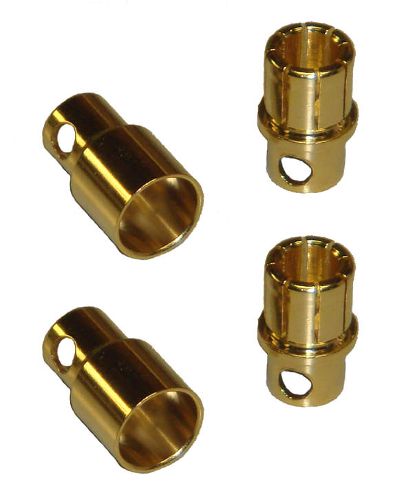 8mm Bullet Connectors