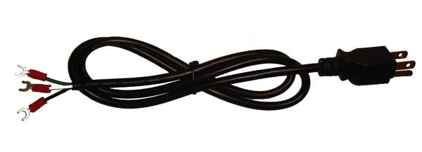 AC Power Cord for Mean Well Power Supplies