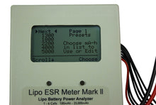 Load image into Gallery viewer, LiPo ESR Meter Mark II