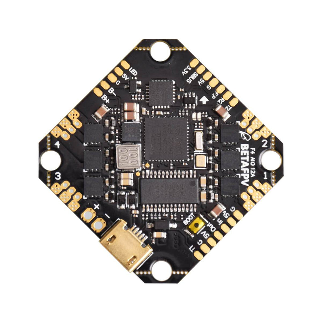 BetaFPV Toothpick F4 2-4S 12A All-in-One Flight Controller