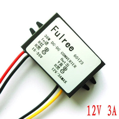 High Voltage 12V 3A DC-DC Step-Down Voltage Regulator