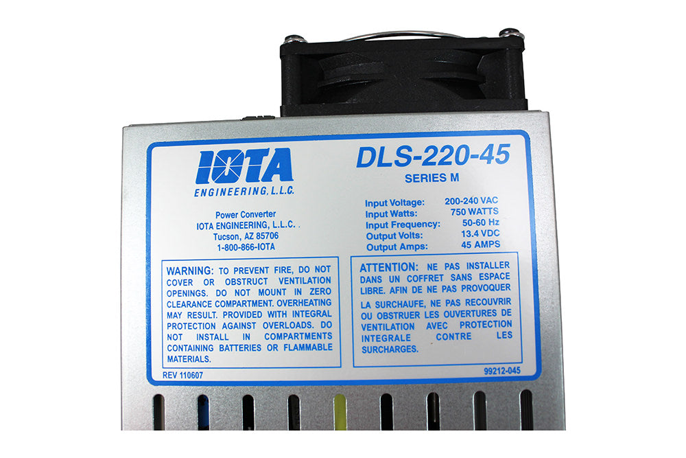IOTA DLS-240-45 Converter and Charger
