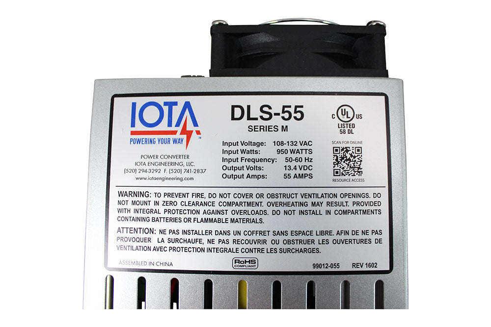 IOTA DLS-55 Converter and Charger