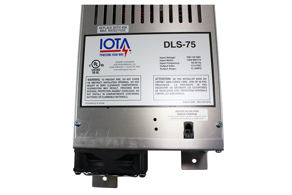 IOTA DLS-75 Converter and Charger