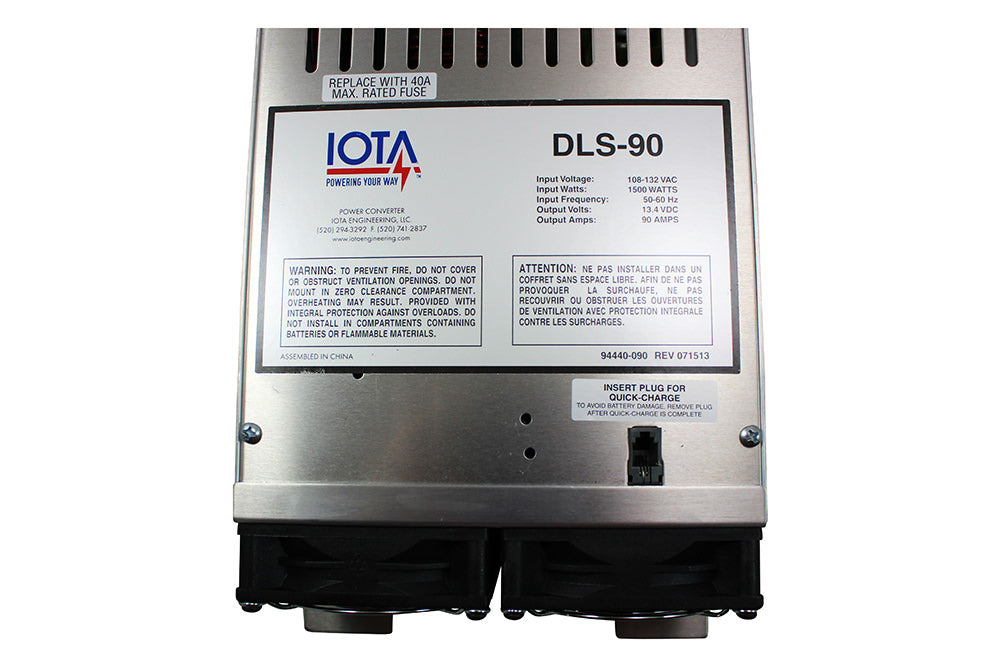 IOTA DLS-90 Converter and Charger