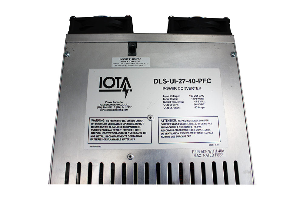 IOTA DLS-UI-27-40 Converter and Charger