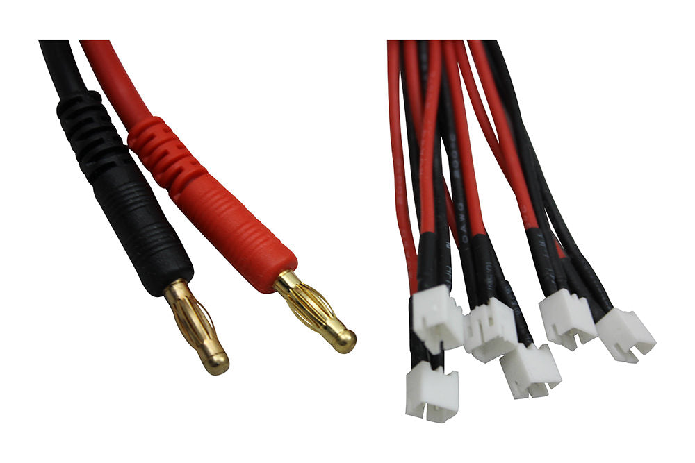 Parallel (6x) 1S JST-PH Charge Cable