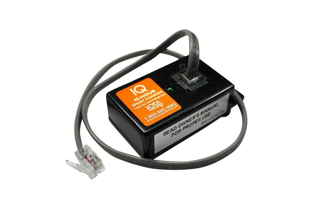 IOTA IQ Smart Charger for DLS Series - 40-Hour