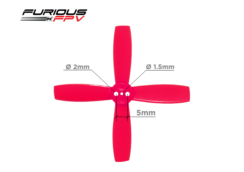 Furious FPV High Performance 2035 4-Blade Propellers