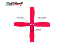 Load image into Gallery viewer, Furious FPV High Performance 2035 4-Blade Propellers