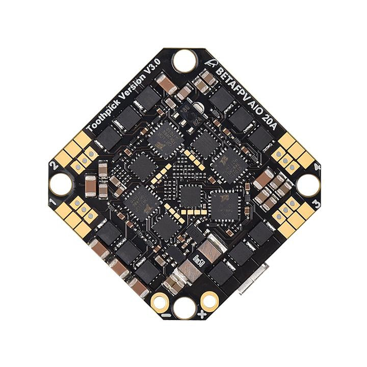 BetaFPV Toothpick F4 2-4S 20A All-in-One Flight Controller V3