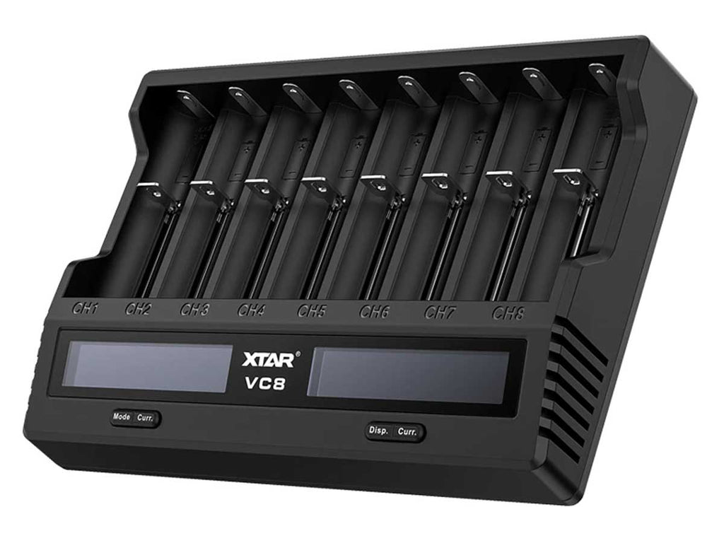 XTAR VC8 Dual-Chemistry Charger